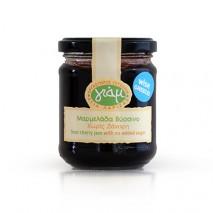 Yiam μαρμελάδα βύσσινο χωρίς ζάχαρη