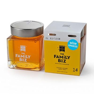 The Family Beez βιολογικό θυμαρίσιο μέλι