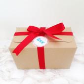 Οικολογικό κουτί με προϊόντα