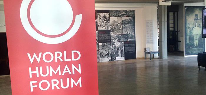 Συμμετοχή στο World Human Forum