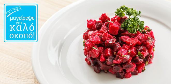 Συνταγή: Γλυκόξινη Παντζαροσαλάτα