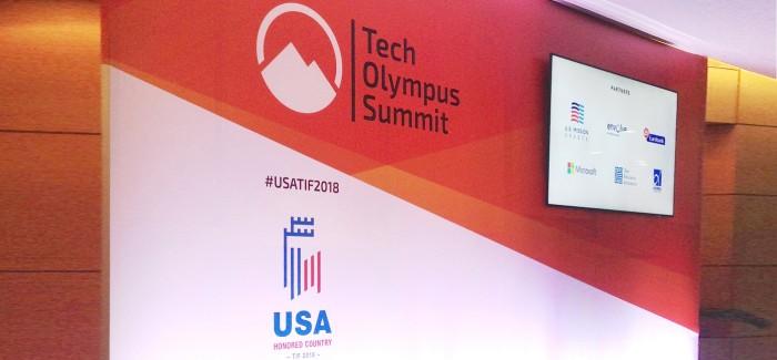 Παρουσίαση στο Tech Olympus Summit