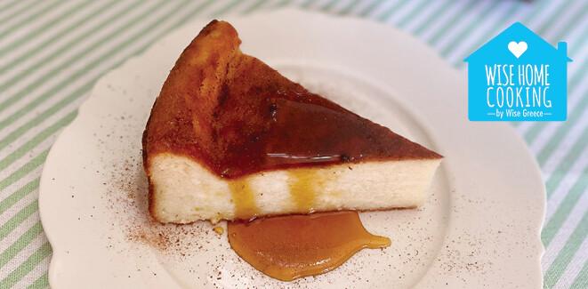 Wise Home Cooking: Μυζηθρόπιτα με μέλι από άνθη Καστανιάς