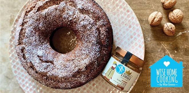 Wise Home Cooking: Vegan κέικ σταφίδας με καρύδια και μανταρίνι