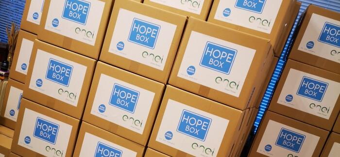 82 Hope Boxes με την υποστήριξη της Enel