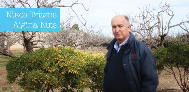 Γνωρίζουμε τον Νίκο από τη βιοτεχνία ξηρών καρπών 'Η Αίγινα'