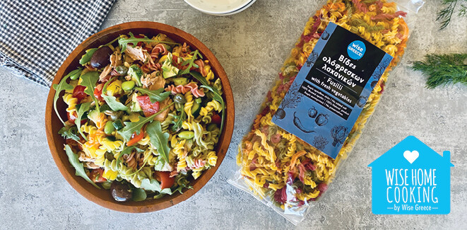 Wise Home Cooking: Τονοσαλάτα με βίδες λαχανικών