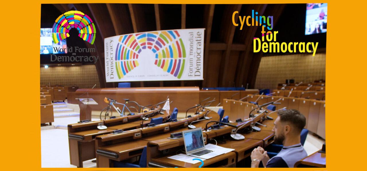 """Η Wise Greece παρουσιάστηκε στο """"Cycling for Democracy"""" του Συμβουλίου της Ευρώπης"""